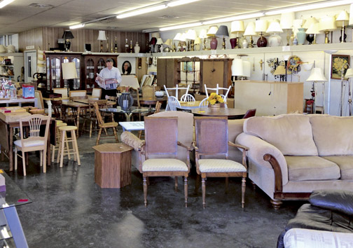 Carolyn Thirtle Correctly Guessed That Jeff Was At Dubuque Rescue Mission Furniture On Central And Won 50 Thrift